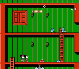 Mickey Mousecapade NES Screenshot Screenshot 2