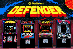Midway's Greatest Arcade Hits GBA Screenshot Screenshot 1