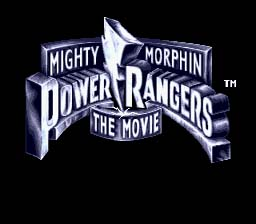 Mighty Morphin Power Rangers: The Movie Genesis Screenshot Screenshot 1