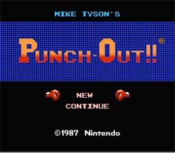 Mike Tyson's Punch-Out!! NES Screenshot Screenshot 1