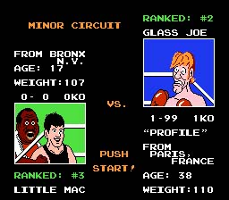 Mike Tyson's Punch-Out!! screen shot 3 3