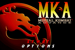 Mortal Kombat Advance GBA Screenshot Screenshot 1