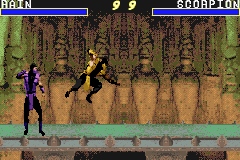 Mortal Kombat Advance screen shot 2 2