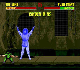 Mortal Kombat 2 Genesis Screenshot Screenshot 2