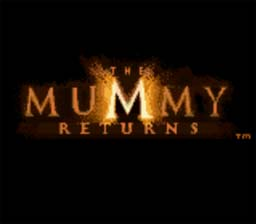 Mummy Returns GBC Screenshot Screenshot 1