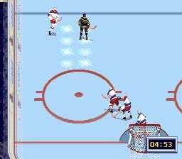 NHL All Star Hockey '95 screen shot 2 2