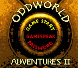 Oddworld Adventures 2 GBC Screenshot Screenshot 1