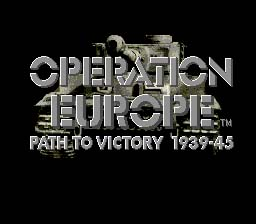 Operation Europe Genesis Screenshot Screenshot 1