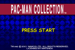 Pacman Collection GBA Screenshot Screenshot 1