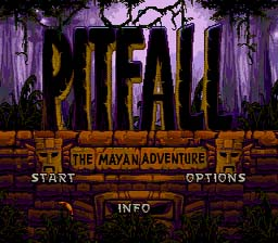 Pitfall: The Mayan Adventure Genesis Screenshot Screenshot 1