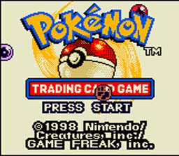 Pokemon Trading Card Game Gameboy Color Screenshot 1