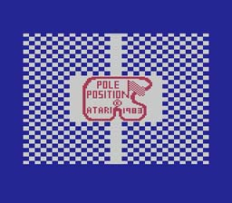 Pole Position Atari 2600 Screenshot Screenshot 1