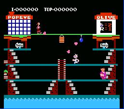 Popeye NES Screenshot Screenshot 2