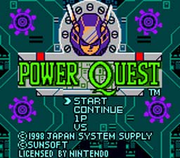 Power Quest GBC Screenshot Screenshot 1