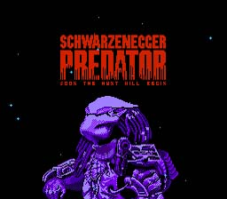 Predator NES Screenshot Screenshot 1