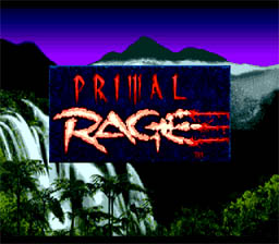 Primal Rage Genesis Screenshot Screenshot 1
