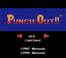 Punch-Out! NES Screenshot Screenshot 1