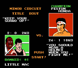 Punch-Out! NES Screenshot Screenshot 3