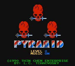 Pyramid NES Screenshot Screenshot 1
