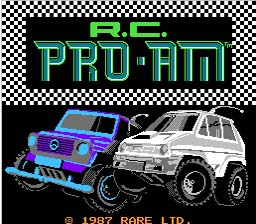 RC Pro AM NES Screenshot 1