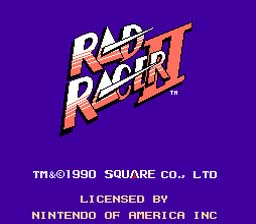 Rad Racer 2 NES Screenshot Screenshot 1