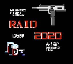 Raid 2020 NES Screenshot 1