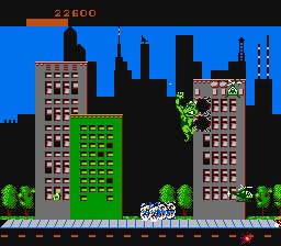 Rampage NES Screenshot Screenshot 3