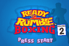 Ready 2 Rumble Boxing Round 2 GBA Screenshot Screenshot 1