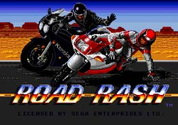 Road Rash Sega Genesis Screenshot 1