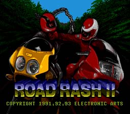 Road Rash 2 Sega Genesis Screenshot 1