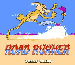Road Runner NES Screenshot 1
