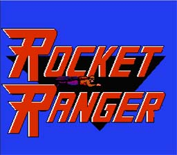 Rocket Ranger NES Screenshot Screenshot 1