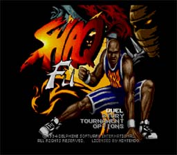 Shaq Fu SNES Screenshot Screenshot 1