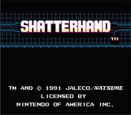 Shatter Hand NES Screenshot Screenshot 1