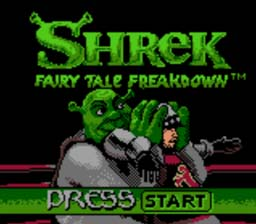 Shrek: Fairy Tale Freakdown GBC Screenshot Screenshot 1