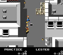 Skate or Die NES Screenshot Screenshot 2