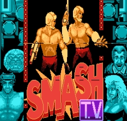 Smash TV NES Screenshot Screenshot 1
