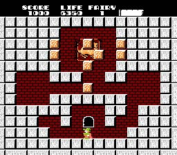 Solomon's Key NES Screenshot Screenshot 2