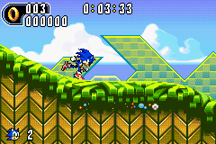 Sonic Advance 2 screen shot 2 2