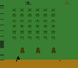 Space Invaders Atari 2600 Screenshot Screenshot 1