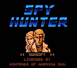 Spy Hunter NES Screenshot 1