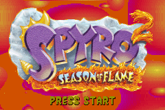 Spyro 2: Season of Flame GBA Screenshot Screenshot 1