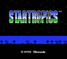 Startropics NES Screenshot Screenshot 1