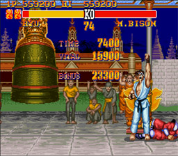 Street Fighter 2 Turbo SNES Screenshot Screenshot 3