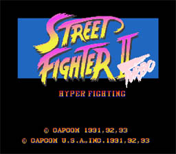 Street Fighter 2 Turbo SNES Screenshot Screenshot 1