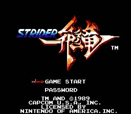 Strider NES Screenshot 1
