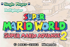 Super Mario Advance 2 GBA Screenshot Screenshot 1