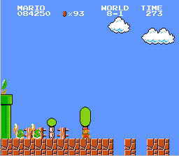 Super Mario Bros. and Duck Hunt NES Screenshot Screenshot 3