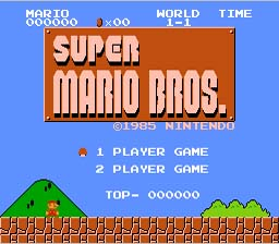 Super Mario Bros. and Duck Hunt NES Screenshot Screenshot 1