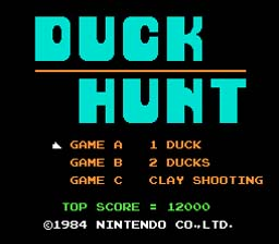 Super Mario Bros. and Duck Hunt NES Screenshot Screenshot 2